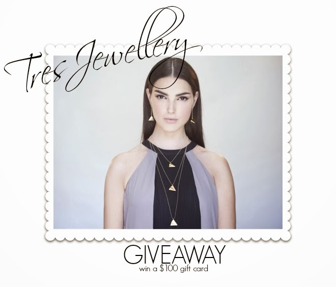bittersweet colours, Giveaway, Jewelry, Tres Jewellery, worldwide giveaway,