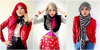 Cara Memadukan Warna Hijab Dengan Pakaian