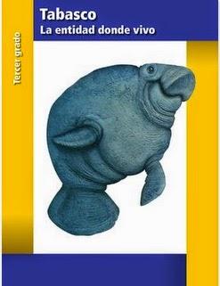 Tabasco La Entidad Donde Vivo Tercer Grado (20114-2015) Libro de Texto PDF