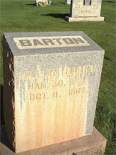 William John Barton Headstone in Parowan