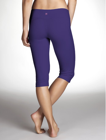 My Superficial Endeavors: Zobha Racer Capri in Perfect Purple