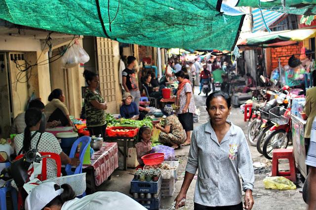 Quartier populaire de Phnom Penh