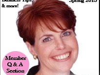 Lifestylist Suzanne Felber Featured on Cover of Women Owned Business Club Magazine