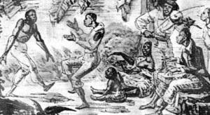 Los aspectos míticos y religiosos. Besouro