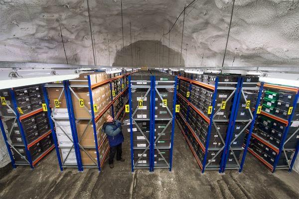 """بالصور والفيديو.. تعرف على مدفن البذور العالمي """"قبو القيامة"""" في النرويج"""