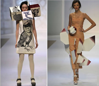 20 Weirdest Fashion Trends: Made of Card