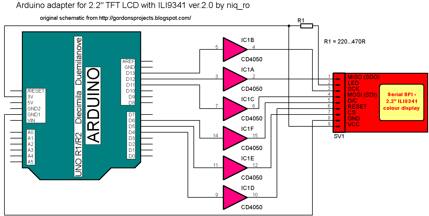 Arduino tehniq weather station with arduino due on 22 tft display arduino due works with 33v logical level like ili9341 driver so in schematic we not need the logical level convertor eg cd4050 from 5v to 33v as in cheapraybanclubmaster Choice Image