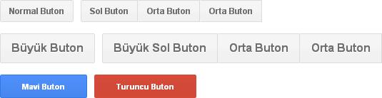 CSS3 İle Oluşturulmuş Google Tarzı Butonlar