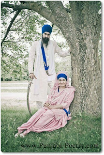 Beutifull Gursikh couple