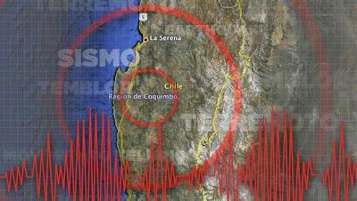 Sísmo de 5,0 grados sacude la región chilena de Coquimbo, al norte de Santiago, el 29 de Octubre 2013