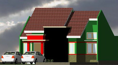 model model rumah minimalis type 80/180