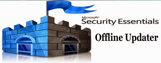 Microsoft Security Essentials Offline Updates 2014