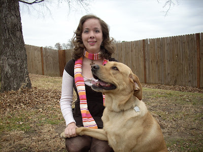 GDB Graduate Laurel Wheeler and Guide Dog Stockard, a yellow female Labrador Retriever