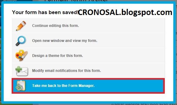 Cara Membuat Form Kirim Artikel untuk Blog