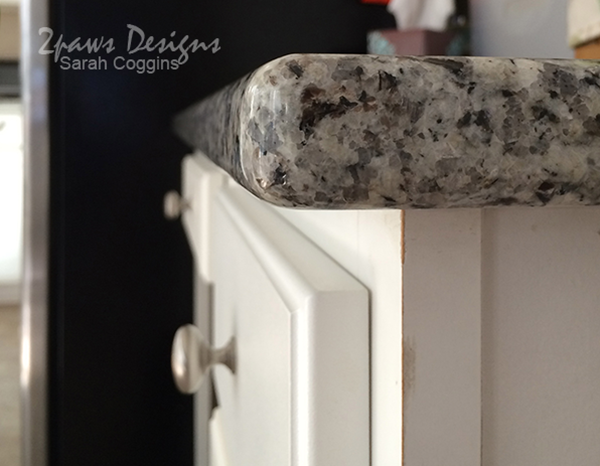Granite Counters - Double Radius Edge
