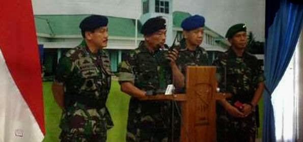 Jelang Pemilu Presiden : TNI Siagakan Tim Penanggulangan Teror