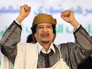 muammar gaddafi shot dead