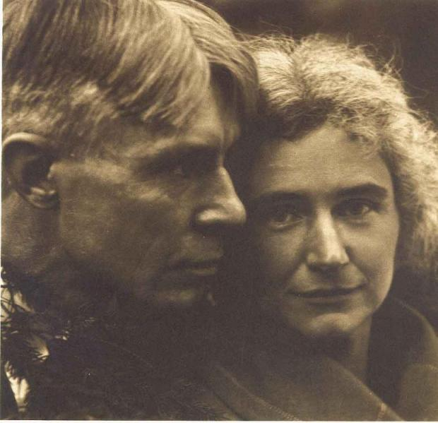 Carl Sandburg & his wife Lillian. Edward Steichen. Fotografía | Photography