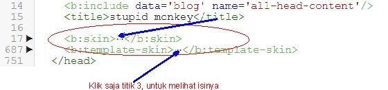 klik titik 3 atau tanda segitiga untuk edit isinya