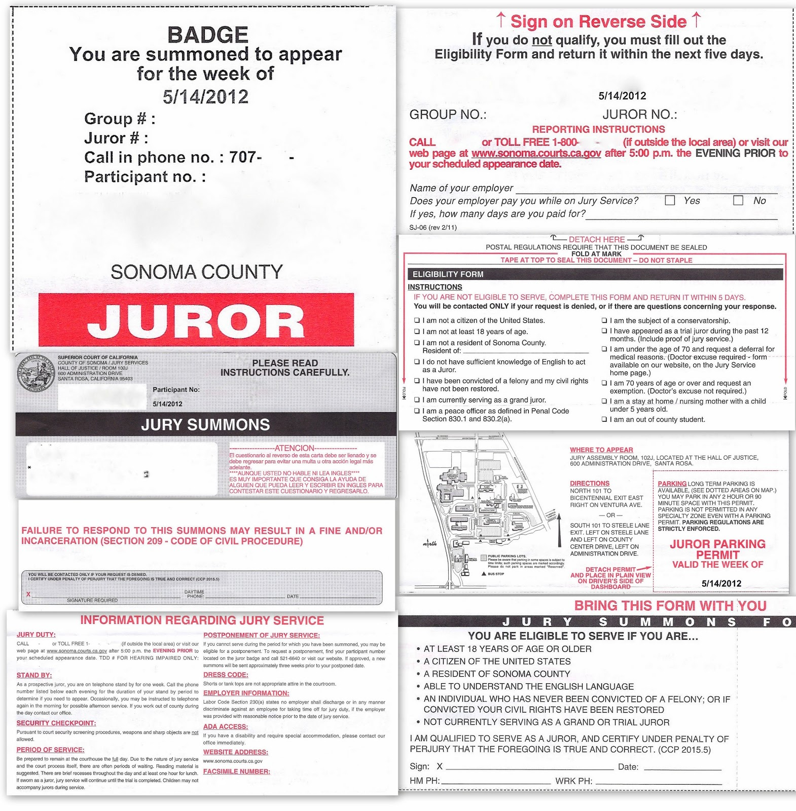 jury duty i have been dreading the thought of going through that process yet again i have served on three juries in the past and i have been called