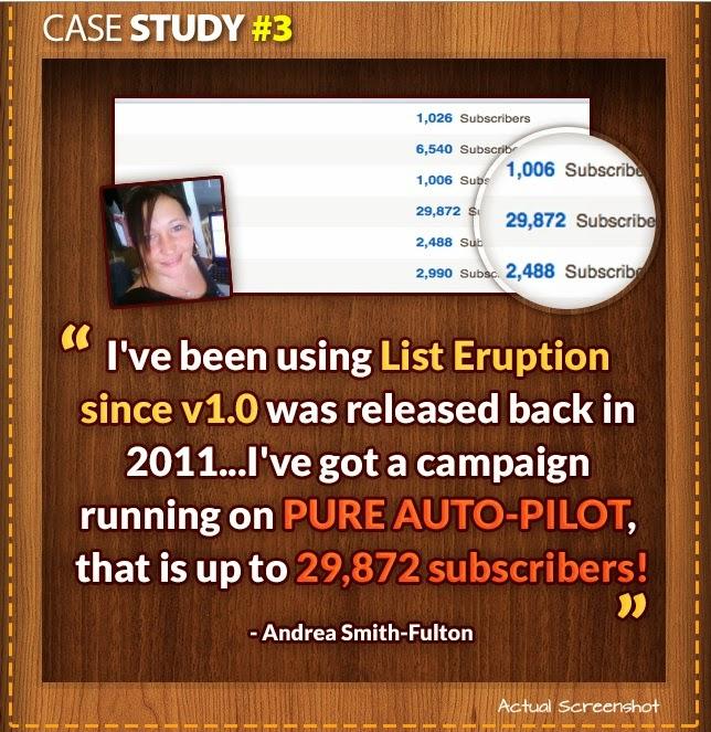 Case study of List Eruption