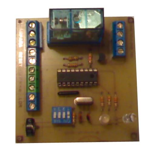 Electr nica pic luz por detector de movimiento y - Detector de luz ...