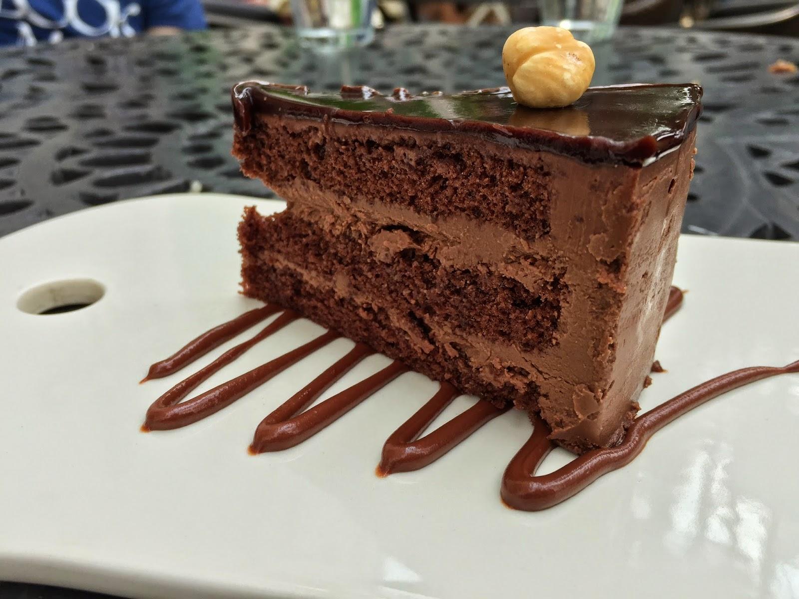 Symmetry - Chocolate Cake
