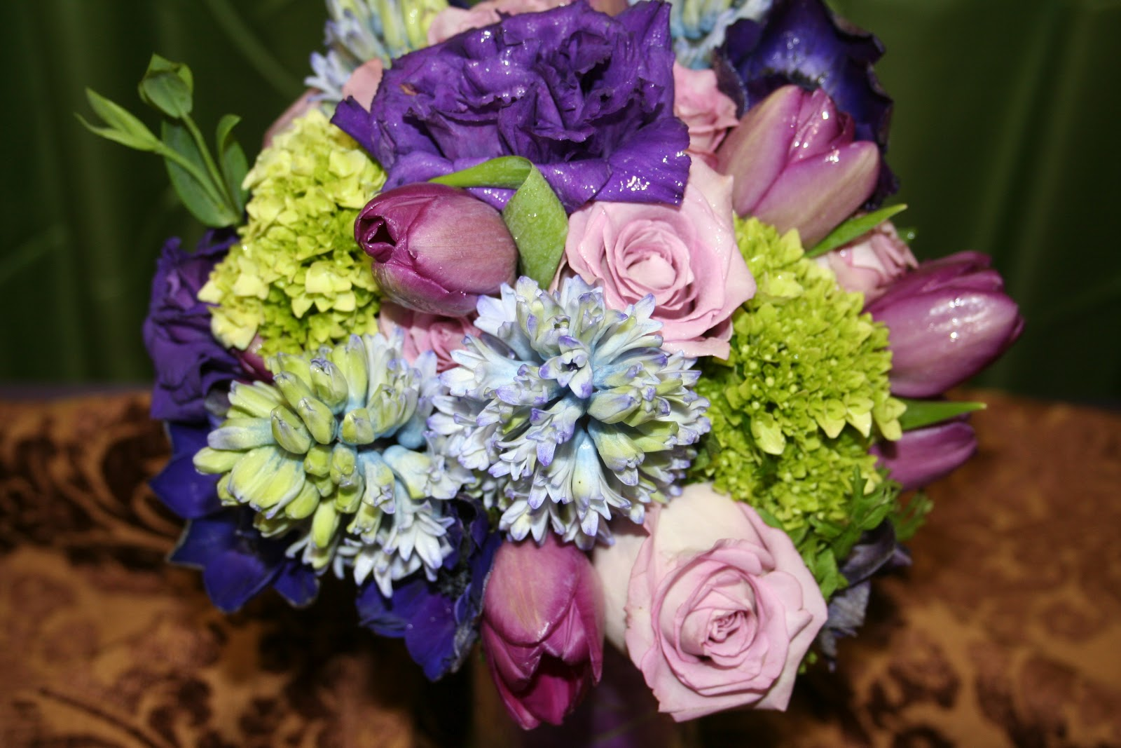Unforgettable Floral Purple And Blue Flower Arrangements