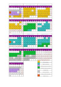 Calendario Académico 2014/2015