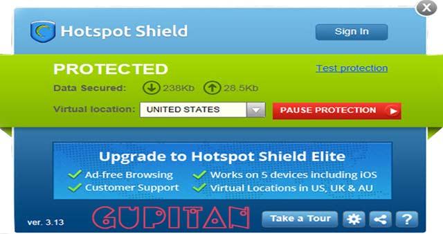 Hotspot Shield 3.13 Final