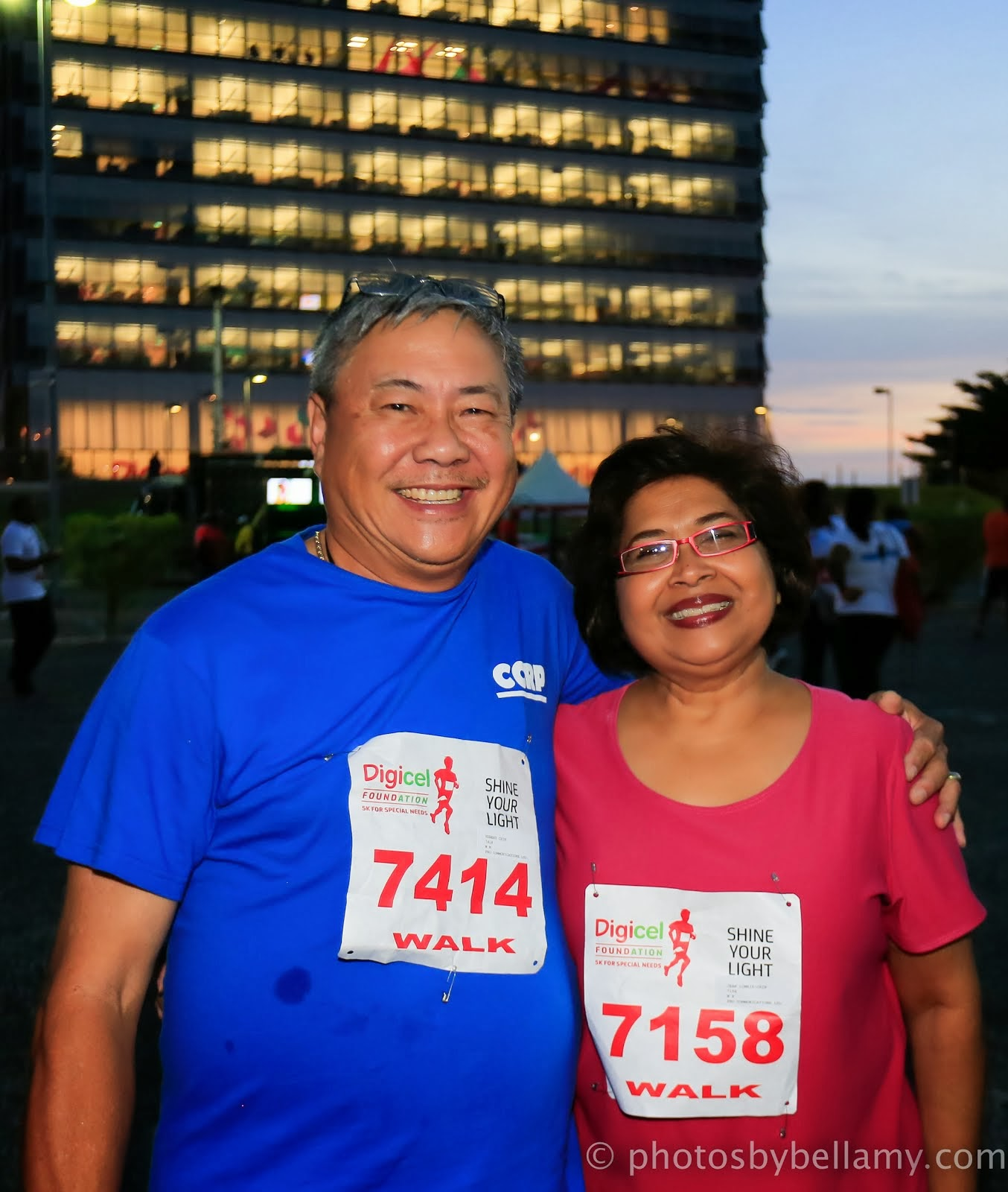 Supporting Digicel Foundation Night 5KRun/Walk for Special Needs