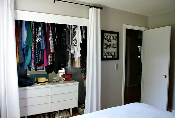 Closet Curtains Instead Of Doors - Curtains Design Gallery
