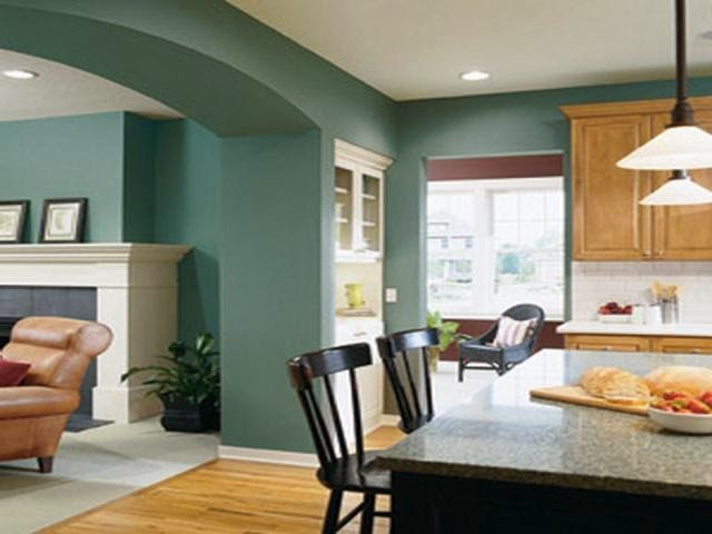 wall paint color for small living room