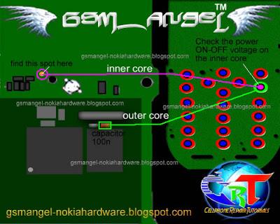 Gsm hardware free solution nokia 1800 power on off key jumper ways
