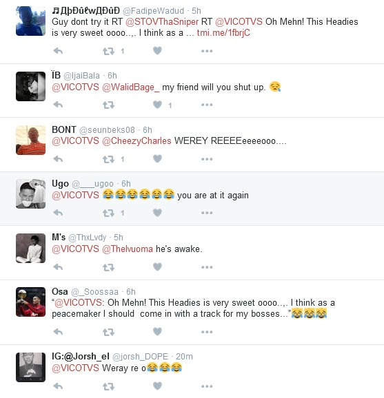 Olamide And Don Jazzy, Una Own Has Finished - Vic O Prepares Diss Track (Twitter Goes Haywire)