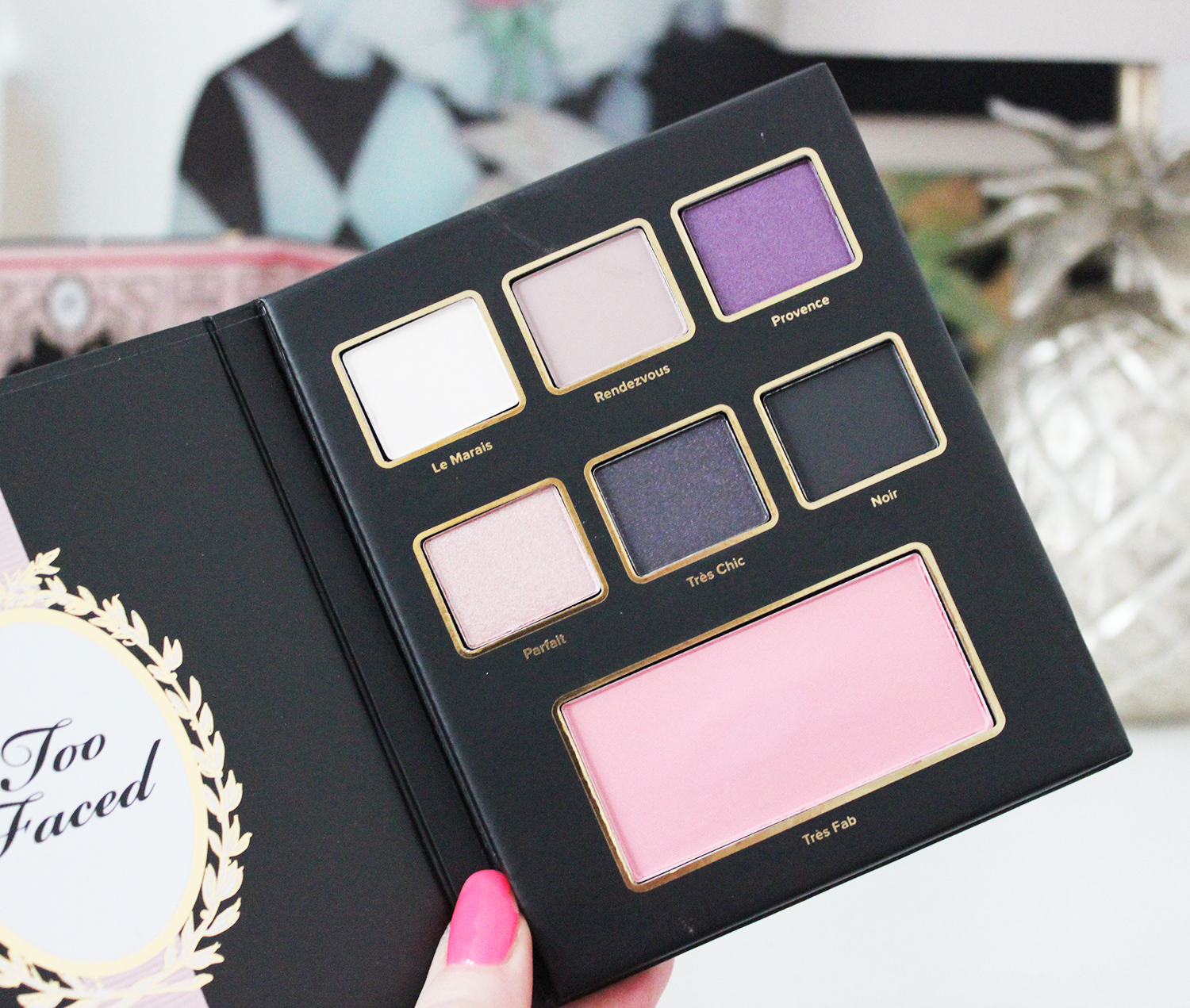 Too Faced Le Grand Chateau holiday palette review