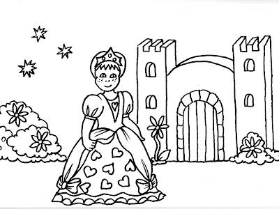 Desenhos de princesas
