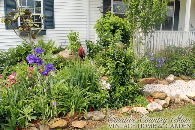 Creative country mom country gardens cottage style spring perennial mixed borders - Mixed style gardens ...