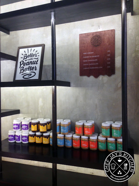 PBCO Everyday Happy Food - Peanut Butter Display
