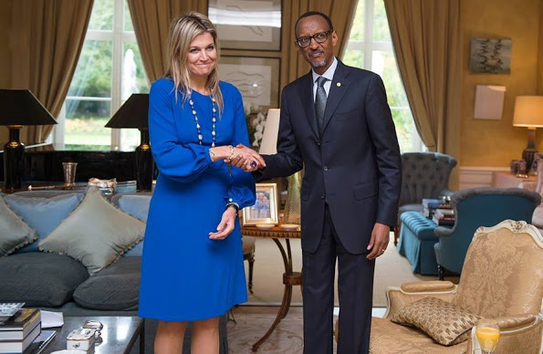 Queen Maxima And King Willem-Alexander Welcome President Of Rwanda