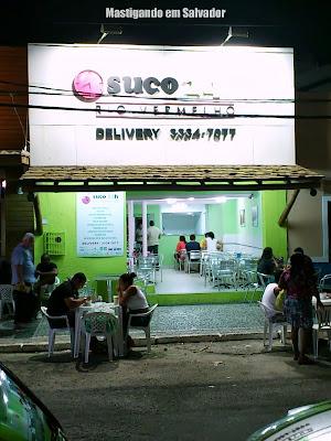 Suco 24h Rio Vermelho: Fachada