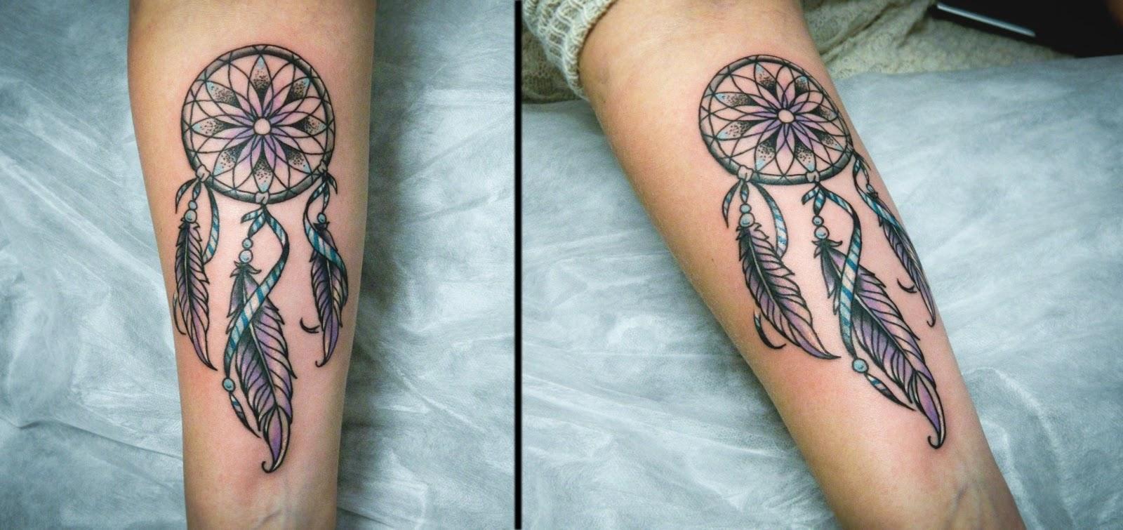 Ловушка снов фото татуировки