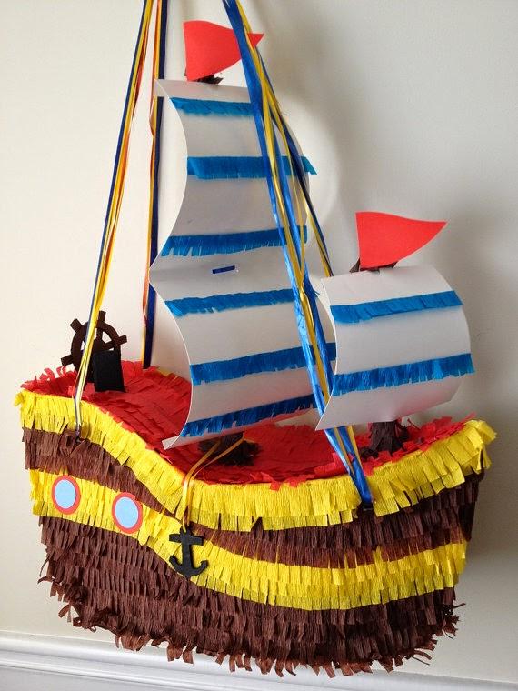 Piñatas Piratas del Caribe, parte 2