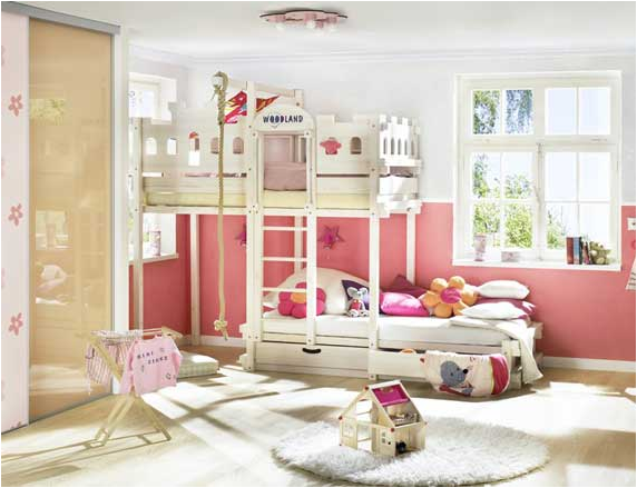 Stylish Bunk beds For Young Girls | Room Design Inspirations