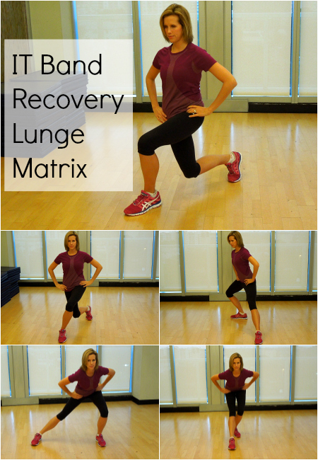Lunge Matrix to help prevent IT Band pain in runners
