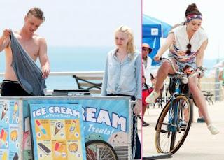 Dakota Fanning & Elizabeth Olsen's Silly Day on 'Very Good Girls' Set » Gossip | Dakota Fanning | Elizabeth Olsen