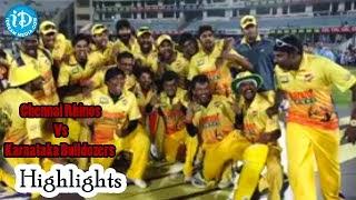 CCL 5 – Semi Final 1 – Chennai Rhinos Vs Karnataka Bulldozers Match Highlights
