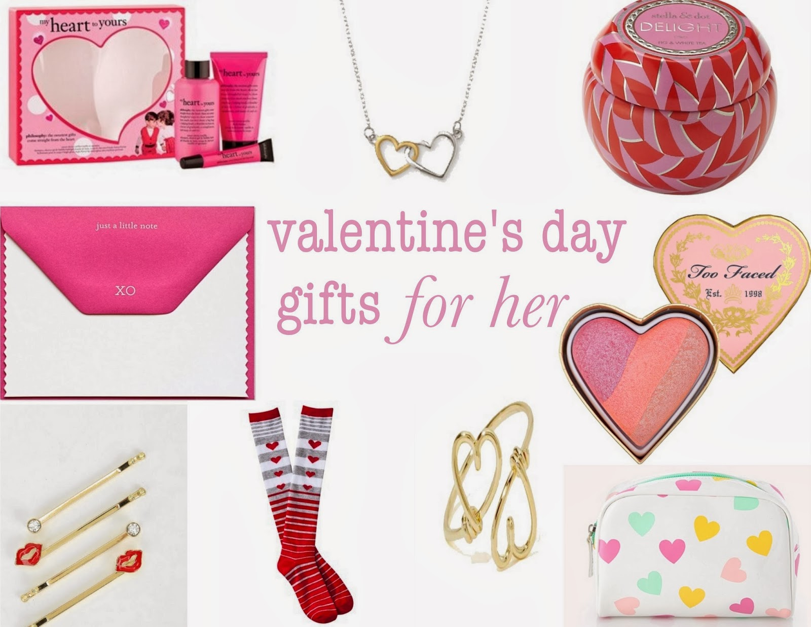 Particularly Practically Pretty: Valentine's Day gifts for girls ...