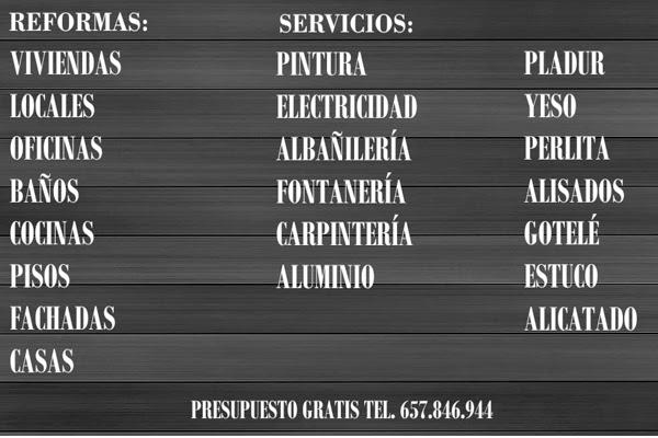 Reformas en MALAGA Tel. 657846944