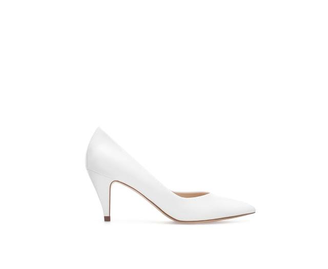 retro white court shoes